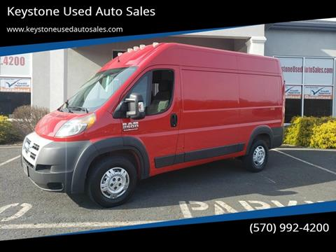 2015 RAM ProMaster Cargo for sale at Keystone Used Auto Sales in Brodheadsville PA