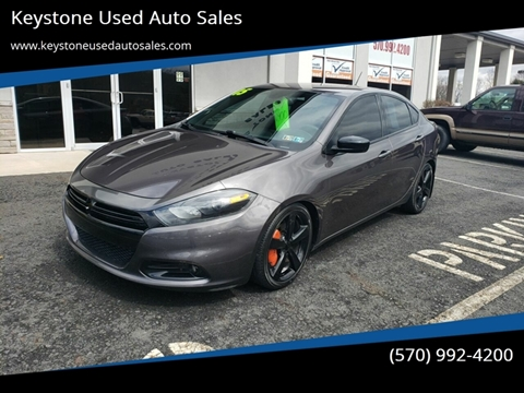 2015 Dodge Dart for sale at Keystone Used Auto Sales in Brodheadsville PA