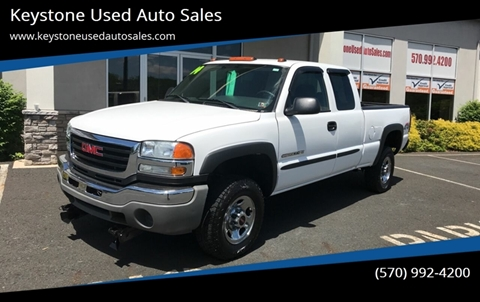 2004 GMC Sierra 2500HD for sale in Brodheadsville, PA