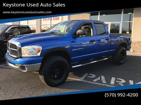 2007 Dodge Ram Pickup 1500 for sale at Keystone Used Auto Sales in Brodheadsville PA