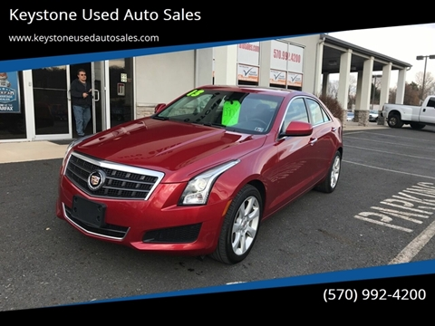 2013 Cadillac ATS for sale at Keystone Used Auto Sales in Brodheadsville PA