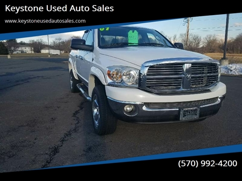 2007 Dodge Ram Pickup 1500 SLT for sale at Keystone Used Auto Sales in Brodheadsville PA