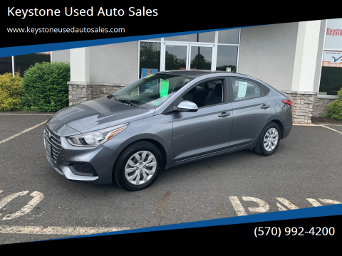 2019 Hyundai Accent for sale at Keystone Used Auto Sales in Brodheadsville PA