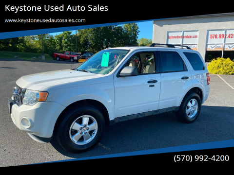 2011 Ford Escape for sale at Keystone Used Auto Sales in Brodheadsville PA
