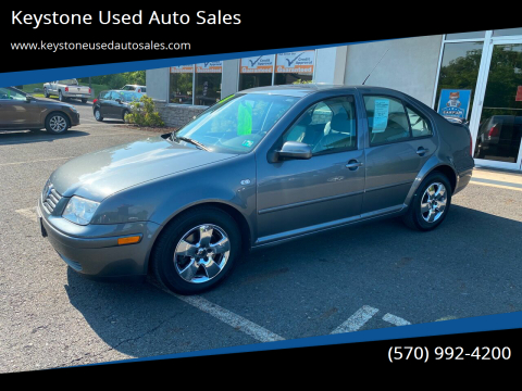 2003 Volkswagen Jetta for sale at Keystone Used Auto Sales in Brodheadsville PA