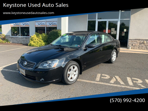 2006 Nissan Altima for sale at Keystone Used Auto Sales in Brodheadsville PA