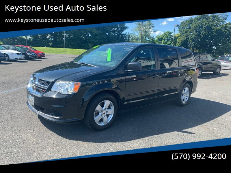 2013 Dodge Grand Caravan for sale at Keystone Used Auto Sales in Brodheadsville PA