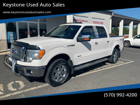 2011 Ford F-150 for sale at Keystone Used Auto Sales in Brodheadsville PA