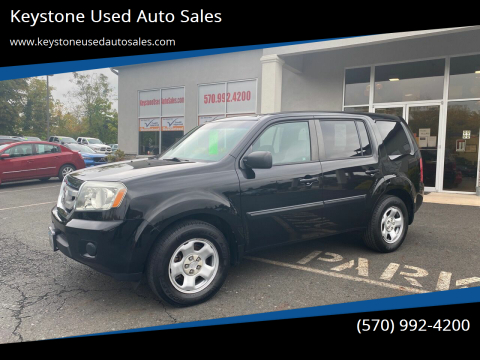 2011 Honda Pilot for sale at Keystone Used Auto Sales in Brodheadsville PA