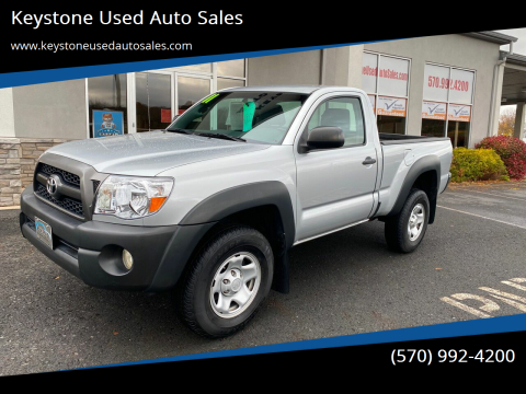2011 Toyota Tacoma for sale at Keystone Used Auto Sales in Brodheadsville PA
