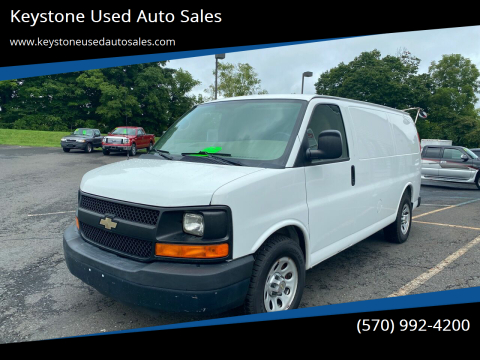2012 Chevrolet Express Cargo for sale at Keystone Used Auto Sales in Brodheadsville PA