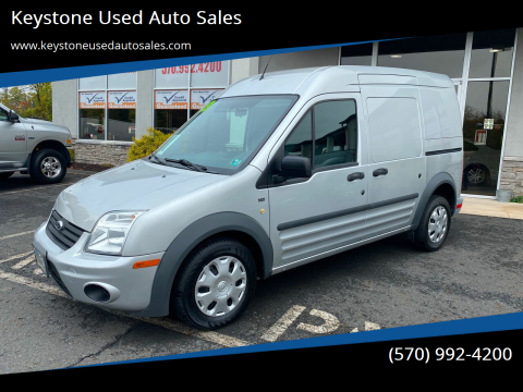 2013 Ford Transit Connect for sale at Keystone Used Auto Sales in Brodheadsville PA