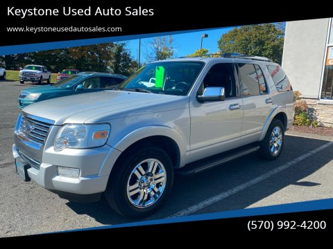 2010 Ford Explorer for sale at Keystone Used Auto Sales in Brodheadsville PA