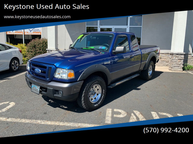 2007 Ford Ranger for sale at Keystone Used Auto Sales in Brodheadsville PA