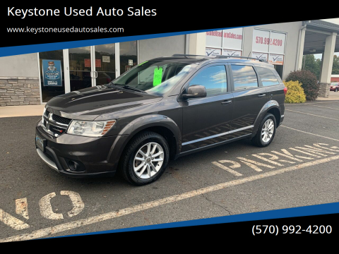 2017 Dodge Journey for sale at Keystone Used Auto Sales in Brodheadsville PA