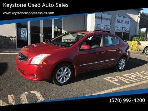 2011 Nissan Sentra for sale at Keystone Used Auto Sales in Brodheadsville PA