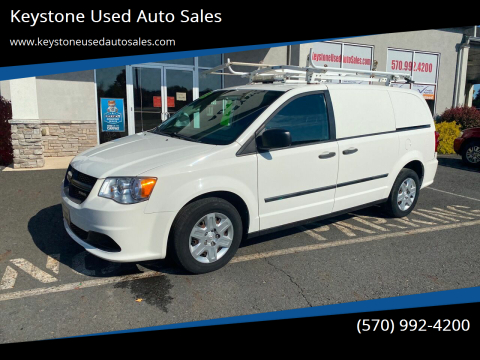 2013 RAM C/V for sale at Keystone Used Auto Sales in Brodheadsville PA