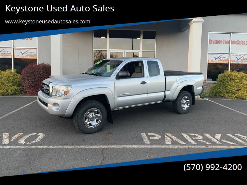 2008 Toyota Tacoma for sale at Keystone Used Auto Sales in Brodheadsville PA