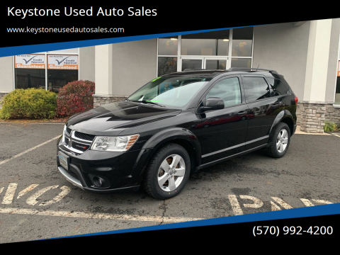 2012 Dodge Journey for sale at Keystone Used Auto Sales in Brodheadsville PA