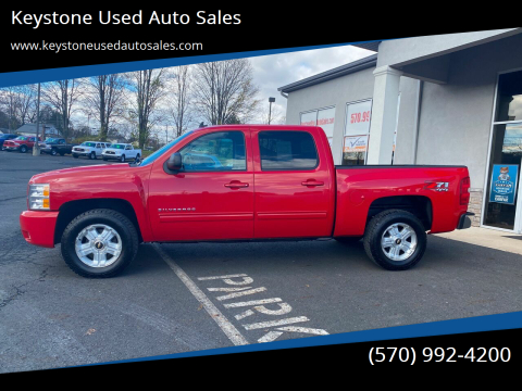2012 Chevrolet Silverado 1500 for sale at Keystone Used Auto Sales in Brodheadsville PA