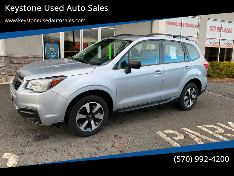 2018 Subaru Forester for sale at Keystone Used Auto Sales in Brodheadsville PA