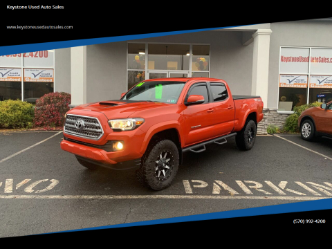 2016 Toyota Tacoma for sale at Keystone Used Auto Sales in Brodheadsville PA