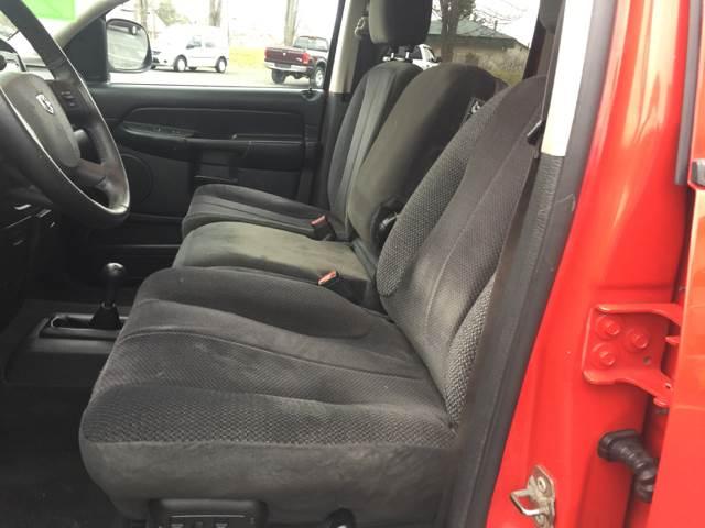 2004 Dodge Ram Pickup 1500 4dr Quad Cab SLT 4WD SB - Brodheadsville PA