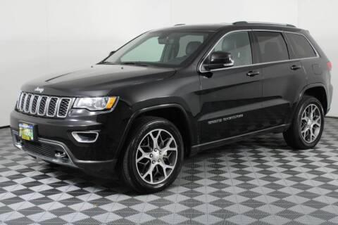 Used White 2018 Jeep Grand Cherokee Trackhawk For Sale In Oregon Carsforsale Com