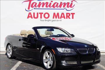 2008 BMW 3 Series for sale at TAMIAMI AUTO MART LLC in Fort Myers FL