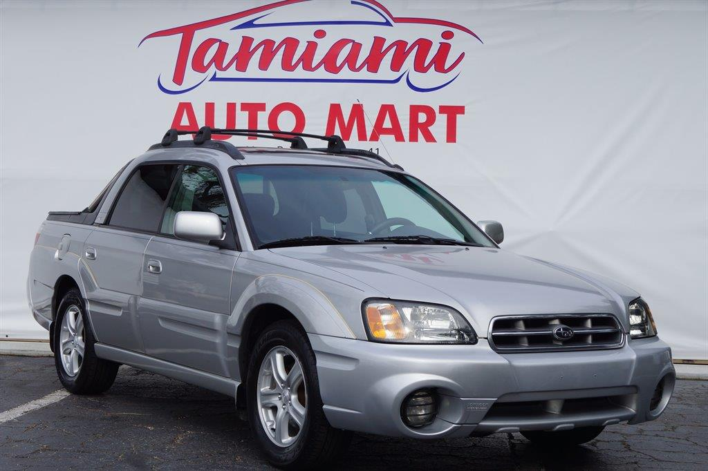 2003 Subaru Baja for sale at TAMIAMI AUTO MART LLC in Fort Myers FL