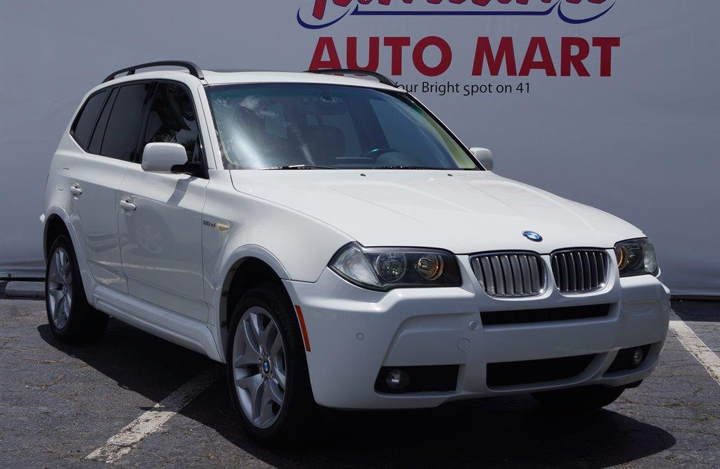 2007 BMW X3 for sale at TAMIAMI AUTO MART LLC in Fort Myers FL