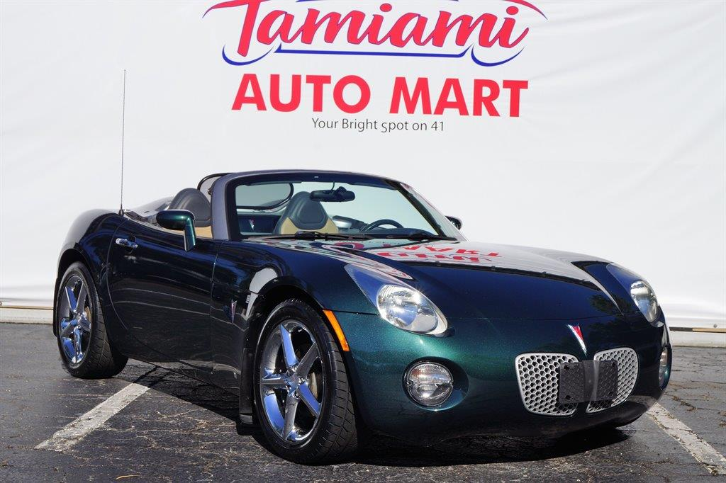 2006 Pontiac Solstice for sale at TAMIAMI AUTO MART LLC in Fort Myers FL