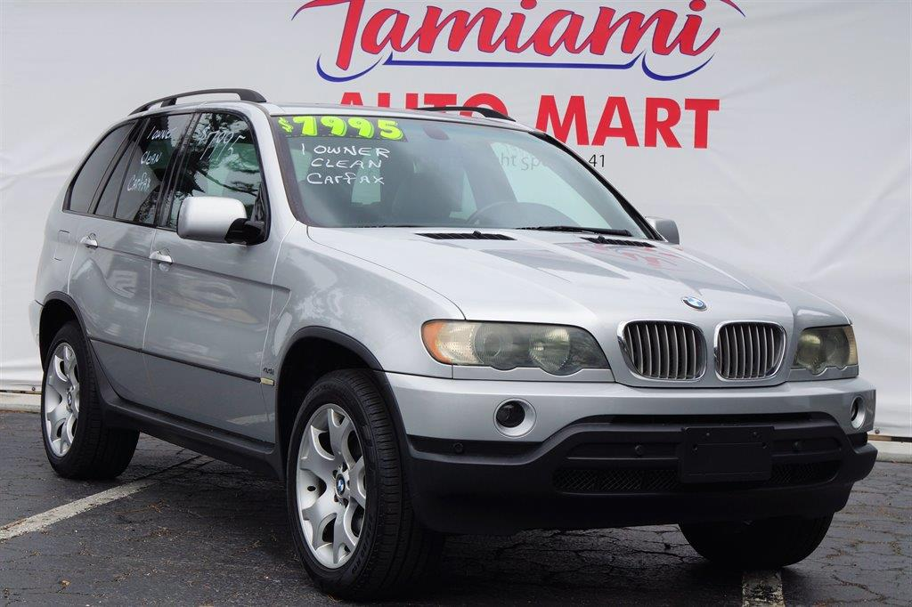 2002 BMW X5 for sale at TAMIAMI AUTO MART LLC in Fort Myers FL