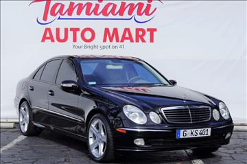 2003 Mercedes-Benz E-Class for sale at TAMIAMI AUTO MART LLC in Fort Myers FL