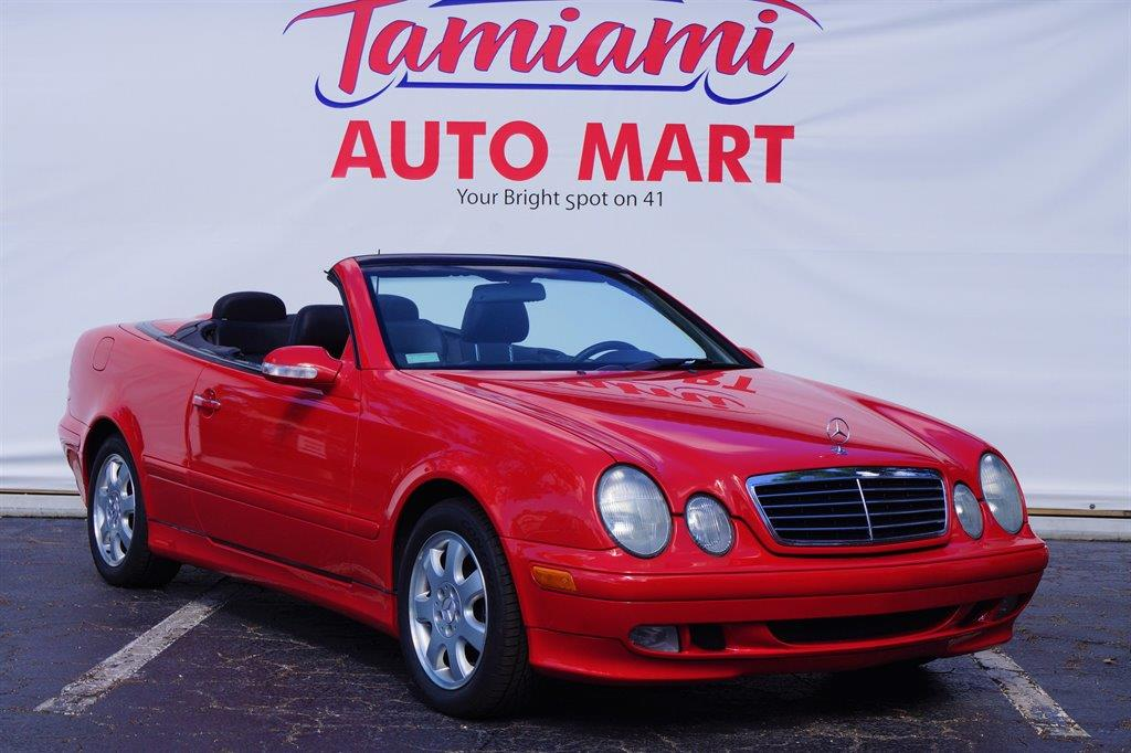 2002 Mercedes-Benz CLK for sale at TAMIAMI AUTO MART LLC in Fort Myers FL