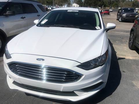 2017 Ford Fusion for sale in Sumter, SC