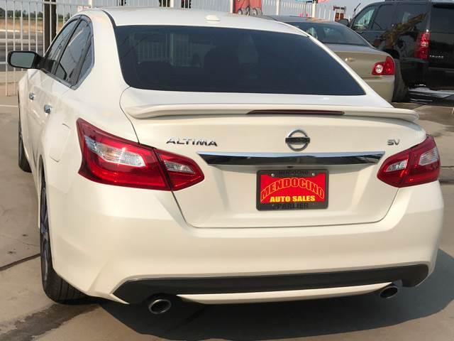 2016 Nissan Altima 2.5 SV 4dr Sedan - Parlier CA