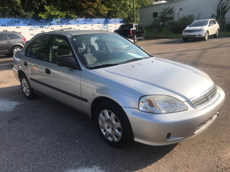 1999 Honda Civic DX 4dr Sedan   Raleigh NC
