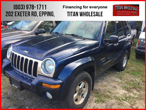 2004 Jeep Liberty for sale in Epping, NH