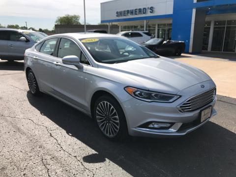 2017 Ford Fusion for sale in Rochester, IN