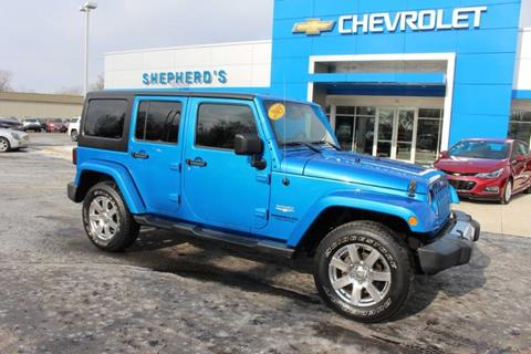 2015 Jeep Wrangler Unlimited for sale in Rochester, IN