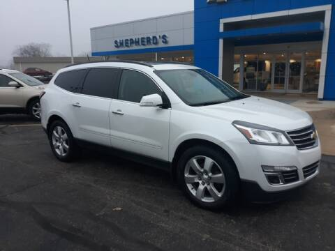 2016 Chevrolet Traverse LTZ for sale at Shepherds Chevrolet Buick in Rochester IN