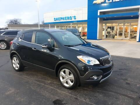 2016 Buick Encore Leather for sale at Shepherds Chevrolet Buick in Rochester IN