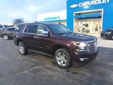 2017 Chevrolet Tahoe Premier for sale at Shepherds Chevrolet Buick in Rochester IN