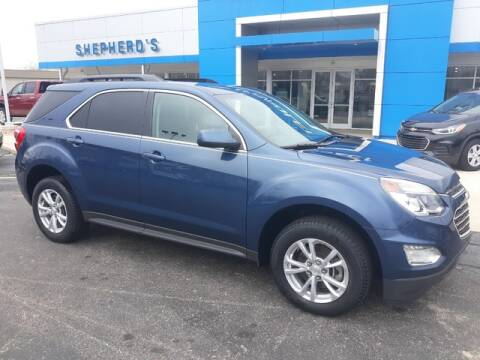 2017 Chevrolet Equinox for sale at Shepherds Chevrolet Buick in Rochester IN