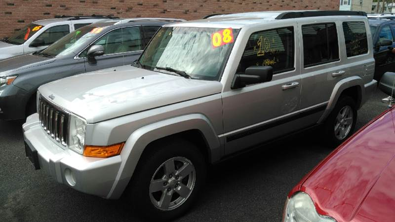 2008 Jeep Commander for sale at Perez Auto Group LLC -Little Motors in Albany NY