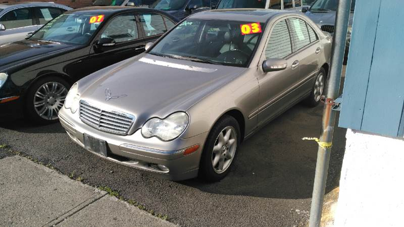 2003 mercedes benz c class c240 4matic awd 4dr sedan in for Mercedes benz albany ny