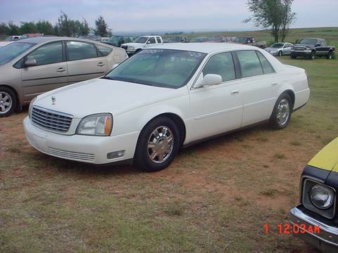 2003 Cadillac DeVille for sale in Hinton, OK