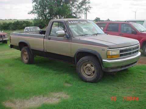 1991 Dodge Dakota for sale in Hinton, OK