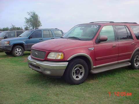 2000 Ford Expedition for sale in Hinton, OK
